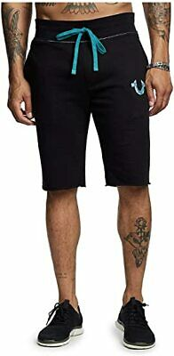 £22 • Buy New Mens True Religion Sweat Casual Shorts Sale!! Available In Black & White