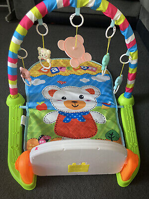 £7.50 • Buy Fisher-Price Kick And Play Piano Gym Baby Toy
