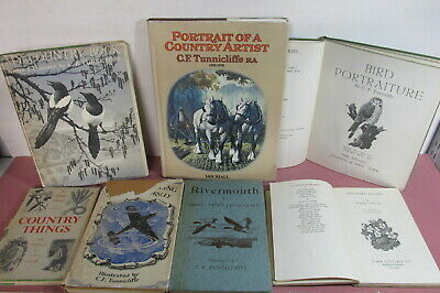 C. F. Tunnicliffe (artist) Themed Book Collection X 7 Titles, Job Lot • 12.99£