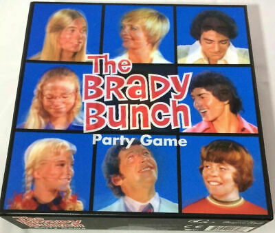 THE BRADY BUNCH Party Game BRAND NEW Sealed 3D Box TV Show 60s Fun Family Game • 7.06£
