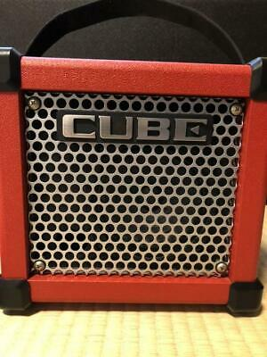 AU307.77 • Buy Roland MICRO CUBE GX Guitar Amplifier (Red)
