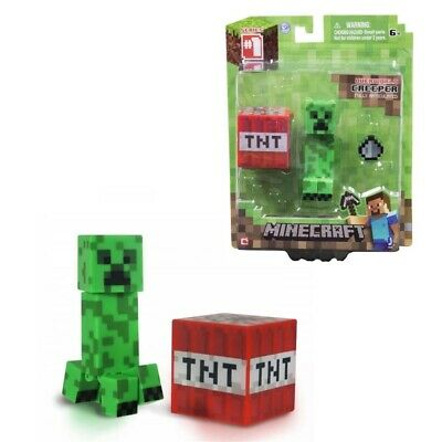 AU12.98 • Buy Minecraft Overworld 4 Creeper Collection Action Mini Toy Figure Gift