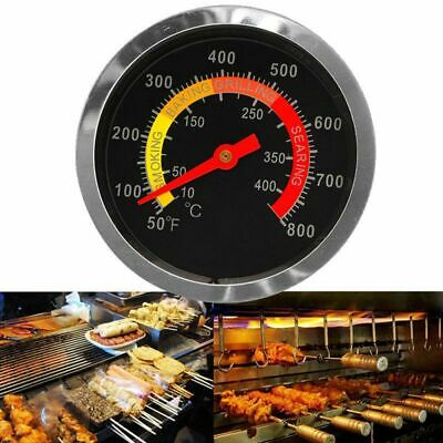 £5.69 • Buy 50-400℃Barbecue BBQ Smoker Grill Thermometer Temperature Gauge Stainless Steel #