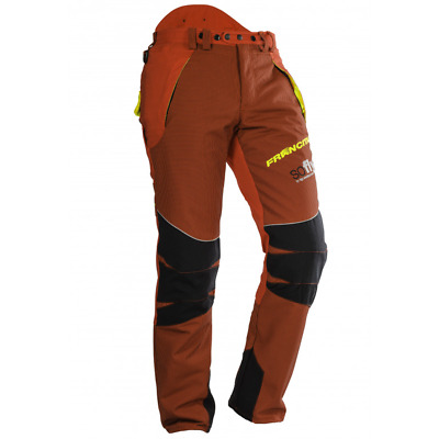 £88.99 • Buy Chainsaw Trousers Type A Class 1 Red Size 36