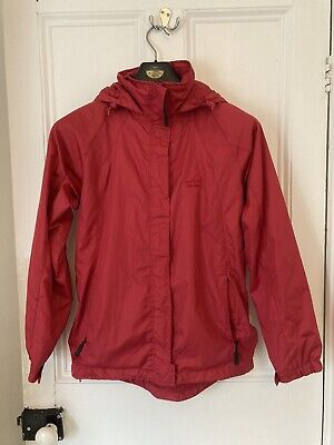 Red Peter Storm Lightweight Rain Coat Jacket  Size 10 - Great Condition • 10£