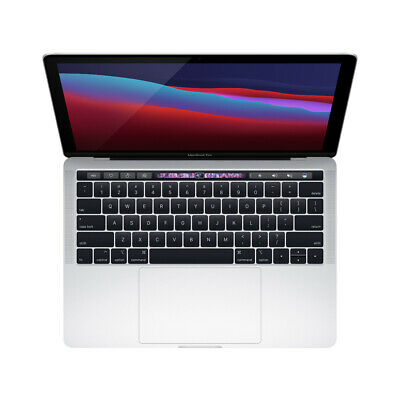 $839 • Buy 2018 Apple MacBook Pro Touch Bar 13  Silver | 2.3GHz I5 8GB 256GB SSD Certified