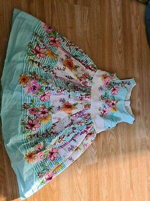 £8 • Buy Young Girls Floral Cotton Prom Dress, Next, Age 6 Years