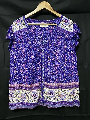 AU175 • Buy Spell Designs Dahlia Bravehearts Strappy Dress Purple Haze M BNWOT