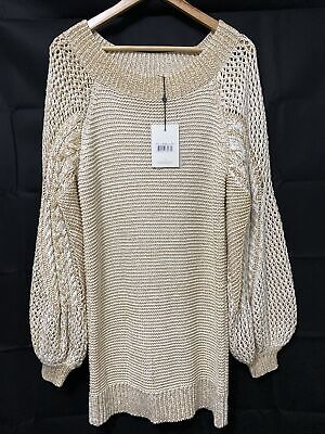 AU195 • Buy Spell Designs Carmen Knit Dress Size M BNWT