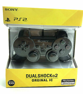 AU29.99 • Buy Sony Playstation 2 PS2 Wired Controller Black Brand New