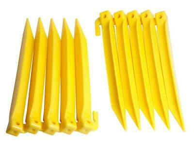 £7.86 • Buy Halfords Plastic Power Tent Pegs 10 Pack 20cm New With Tag Free P&P UK