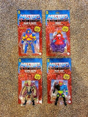 $85 • Buy Lot Of 4 2021 Mattel Masters Of The Universe 6  Action Figures Retro Play BN
