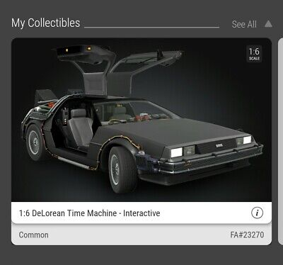 $25 • Buy Delorean Nft Veve Common Out Of Stock Below Cost!
