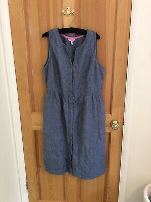 AU14.31 • Buy Joules Denim Dress Size 14