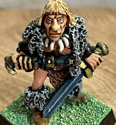 £34.99 • Buy BARBARIAN Talisman Game 1st / 2nd Edition Figure Games Workshop Citadel Painted