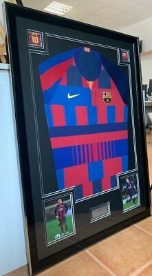 AU1545.50 • Buy FC Barcelona - Spanish Football League - Lionel Messi - Jersey - Hand Signed