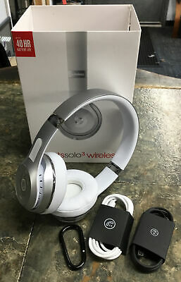 $ CDN56.83 • Buy Beats By Dr. Dre Solo3 Wireless Over The Ear Headphones - Silver