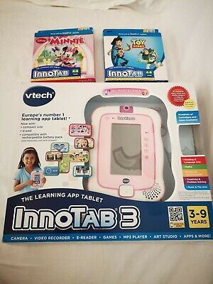 £20.40 • Buy Pink Vtech Innotab 3 And 2 Games Charger, Box And Manual