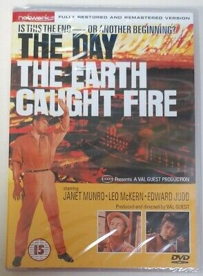£5 • Buy DVD - *New / Sealed* The Day The Earth Caught Fire DVD Edward Judd Guest PAL UK