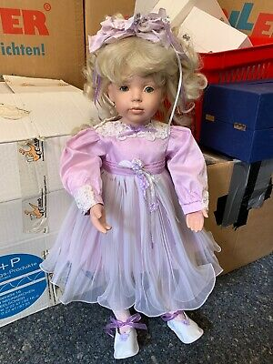£97.15 • Buy Donna Rubert Porcelain Doll 62 Cm. Top Condition