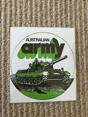 AU9 • Buy Australian Army Vintage 1980's Sticker