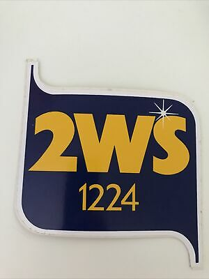 AU7 • Buy 2WS Radio.Vintage 1980's Sticker