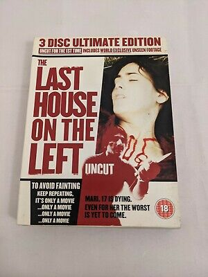 £6.66 • Buy Last House On The Left (DVD, 2008, 3-Disc Set) FAST SHIPPING