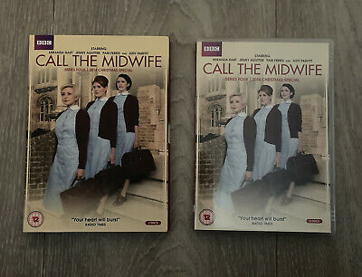Call The Midwife Dvd - Series 4 Four & Christmas Special - BBC • 4.99£