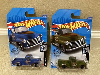 AU5.07 • Buy Hot Wheels '52 Chevy Pickup Mighty Max Green & Blue