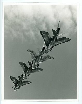 £1.99 • Buy Photograph Of English Electric Lightning F.2 Formation - 92 Sqn RAF Gutersloh