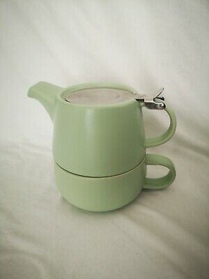 £18.99 • Buy Maxwell & Williams Tint Teapot And Cup, Light Green