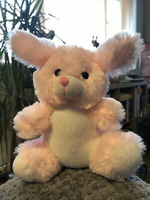 £3.99 • Buy Pink Bunny Soft Toy Hanger Approx 15cm Very Soft Cuddly Toy Collectible Plush