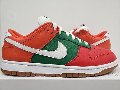 AU10.20 • Buy Nike Dunk Low By You 7-Eleven Size 11 ID 7-11 Seven Eleven Orange Red Green
