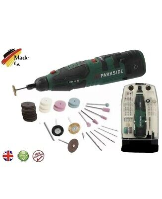 £32.89 • Buy Parkside 12V Cordless Rotary Dremel Tool With Accessories