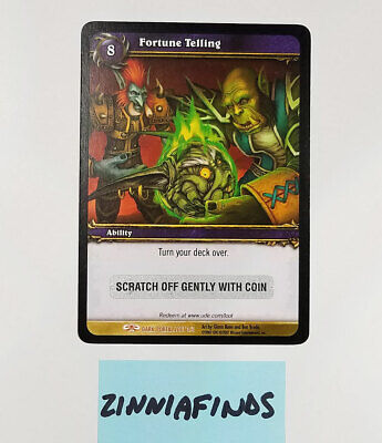 £49.36 • Buy WoW Warcraft FORTUNE TELLING LOOT Imp In A Ball Loot Card World Of Warcraft TOY