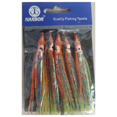 AU9.99 • Buy Harbor Octopus Skirt Fishing Gear