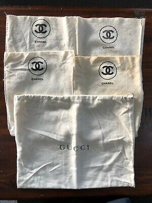 AU26 • Buy Chanel And Gucci Dust Bags X 5