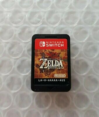 AU43 • Buy The Legend Of Zelda Breath Of The Wild (Nintendo Switch) Game Card Only