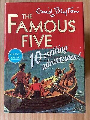 £12.99 • Buy Famous Five Classic Collection 10 Story Book Set By Enid Blyton