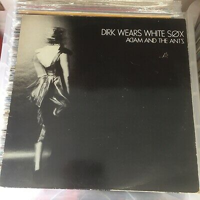 £40 • Buy ADAM AND THE ANTS Dirk Wears White Sox DO IT RECORDS VINYL LP RIDE 3