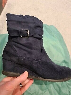 Ladies Pavers Boots, Size 5 - Wedge Style *NEW* • 5£