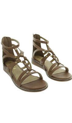 £10 • Buy Ravel Minto Tan Leather Gladiator Caged Sandals 5 Worn Once