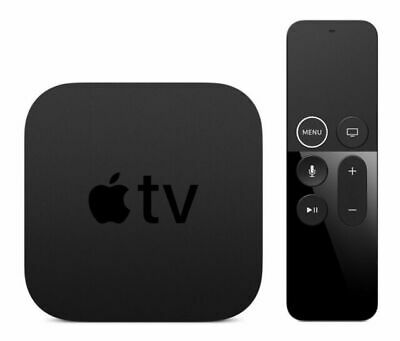 AU178.93 • Buy Apple TV 4th Generation 32GB HD Media Streamer Black (MR912LL/A) Factory Sealed