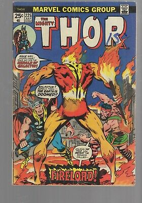£24.39 • Buy Thor 225 Key Issue 1st Appearance  Of Firelord   Bronze   Age  Marvel Comics