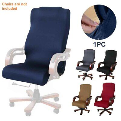 AU19.12 • Buy Stretch Computer Office Chair Covers Slipcover Desk Task Rotate Seat Cover S-L