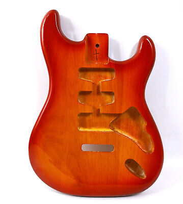 $100 • Buy DIY Guitar Body Replacement Mahogany SSS Glossy Painting For Strat Jackson Style