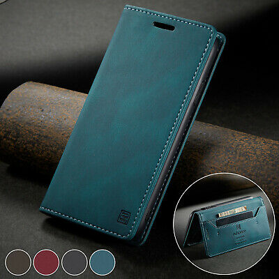 £1.89 • Buy For IPhone 12 11 8 Plus 7 SE 2020 Magnetic Leather Flip Wallet Card Case Cover