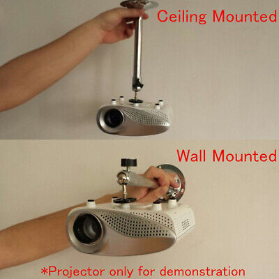 AU11.84 • Buy Portable Mini Bracket Stand Wall Ceiling Mount 360° For Mini Projector 3KG Load