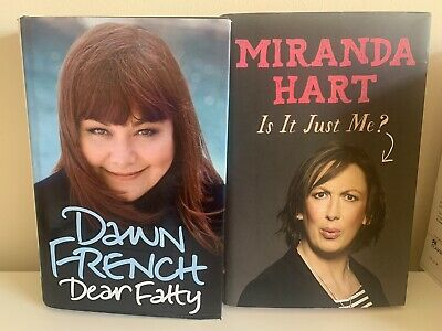 £3 • Buy Autobiography Books Dawn French Dear Fatty And Miranda Hart Is It Just Me?