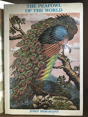 £5.99 • Buy Book Peafowl Of The World - Cage & Aviary Series By Josef Bergmann - Saiga 1980